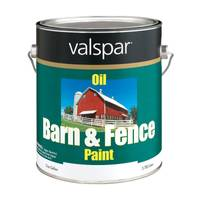 Valspar Barn & Fence Paint, White Oil from Blain's Farm and Fleet