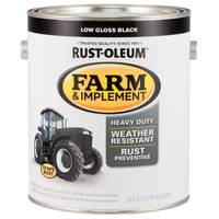 Rust-Oleum Farm & Implement Rust-Resistant Low Gloss Black Paint from Blain's Farm and Fleet