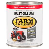 Rust-Oleum Farm & Implement Allis Chalmers Orange Paint from Blain's Farm and Fleet