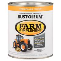 Rust-Oleum Farm & Implement Caterpillar Yellow Paint from Blain's Farm and Fleet