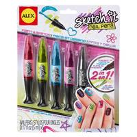 Alex Toys SPA Sketch It Nail Pens - Hot Hues from Blain's Farm and Fleet