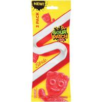 Sour Patch Kids Redberry 3 Pack Gum from Blain's Farm and Fleet