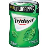 Trident 50 Count Unwrapped Spearmint Gum from Blain's Farm and Fleet