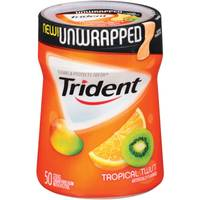 Trident 50 Count Unwrapped Tropical Gum from Blain's Farm and Fleet