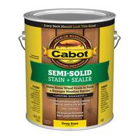 Cabot Semi-Solid Deck & Siding Stain from Blain's Farm and Fleet