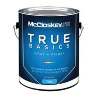 McCloskey True Basics Interior Flat White Paint & Primer from Blain's Farm and Fleet
