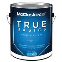 McCloskey True Basics Interior Flat Pastel Base Paint & Primer from Blain's Farm and Fleet