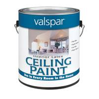 Valspar White Interior Latex Ceiling Paint from Blain's Farm and Fleet
