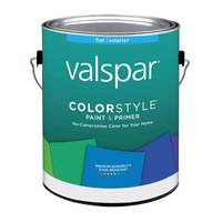 Valspar ColorStyle Interior Latex Flat Wall White Paint from Blain's Farm and Fleet