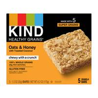 Kind Healthy Grains Oats & Honey with Toasted Coconut Granola Bars from Blain's Farm and Fleet