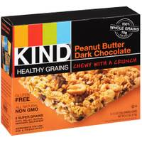 Kind Healthy Grains Peanut Butter Dark Chocolate Granola Bars from Blain's Farm and Fleet