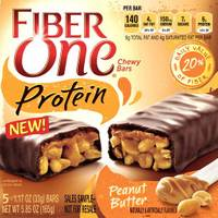 Fiber One Peanut Butter Protein Bars from Blain's Farm and Fleet