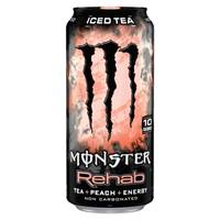 Monster Rehab Peach Tea Energy Drink from Blain's Farm and Fleet