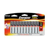 Energizer 20-Pack Max AA Batteries from Blain's Farm and Fleet