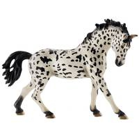 Schleich Knabstrupper Mare Figurine from Blain's Farm and Fleet