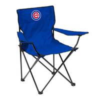 Logo Chairs Chicago Cubs Quad Camping Chair from Blain's Farm and Fleet