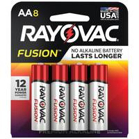 Rayovac Fusion AA Alkaline Batteries 8-Pack from Blain's Farm and Fleet