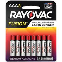 Rayovac Fusion AAA Alkaline Batteries 8-Pack from Blain's Farm and Fleet
