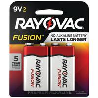 Rayovac Fusion 9V Battery 2-Pack from Blain's Farm and Fleet