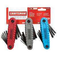 Craftsman 3 Piece Hex Key Set from Blain's Farm and Fleet