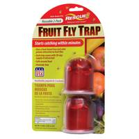 Rescue Reusable Fruit Fly Trap 2 Pack from Blain's Farm and Fleet