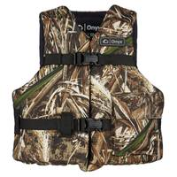 Onyx Youth Max5 Camo Life Vest from Blain's Farm and Fleet