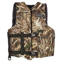 Onyx Universal Adult Max5 Camo Life Vest from Blain's Farm and Fleet
