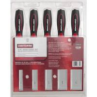 Craftsman 5 Pc. Wood Chisel Set from Blain's Farm and Fleet