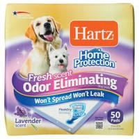 Hartz Home Protection Odor Eliminator Dog Pads 50 Pack from Blain's Farm and Fleet