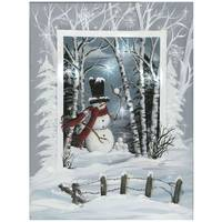 Timeless by Design Snowball LED Canvas from Blain's Farm and Fleet