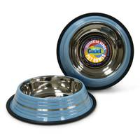 Cadet Non-Skid Stainless Steel Dog Bowl Assortment from Blain's Farm and Fleet