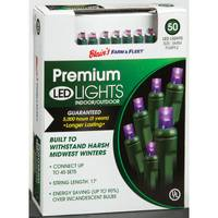 Blain's Farm & Fleet Premium Purple 50-Light LED Light Set from Blain's Farm and Fleet