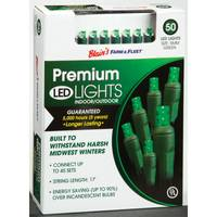 Blain's Farm & Fleet Premium Green 50-Light LED Light Set from Blain's Farm and Fleet