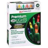 Blain's Farm & Fleet Premium Multi-Colored 50-Light LED Light Set from Blain's Farm and Fleet