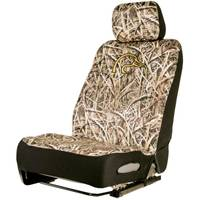 Ducks Unlimited Neoprene Low Back Polyester Seat Cover from Blain's Farm and Fleet