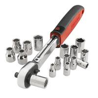 Craftsman 17 Piece Metric Wobble Socket Wrench Set from Blain's Farm and Fleet