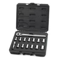 Craftsman Inch and Metric Easy-Read Socket Wrench Set from Blain's Farm and Fleet