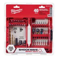 Milwaukee 40 Piece Shockwave Drill & Drive Set from Blain's Farm and Fleet