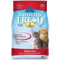 Blue Buffalo Life Protection Naturally Fresh Multi-Cat Quick-Clumping Cat Litter from Blain's Farm and Fleet