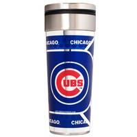 Great American Products Chicago Cubs Stainless Steel Travel Tumbler from Blain's Farm and Fleet