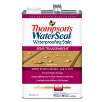 Thompson's WaterSeal Semi-Transparent Waterproofing Wood Stain & Sealer from Blain's Farm and Fleet