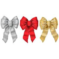 Holiday Trims Shimmering Glitter Wire Bow from Blain's Farm and Fleet