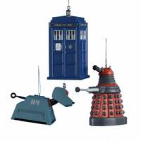Kurt S. Adler Doctor Who Sonic Screwdriver Ornament Assortment from Blain's Farm and Fleet