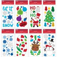 Impact Innovations Christmas Window Gel Cling Assortment from Blain's Farm and Fleet