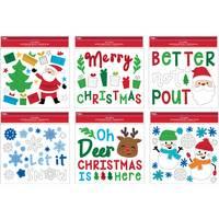 Impact Innovations Christmas Window Gel Cling Assortment from Blain's Farm and Fleet