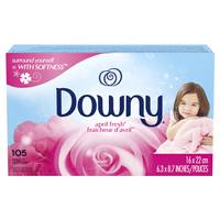 Downy April Fresh Dryer Sheets Fabric Softener from Blain's Farm and Fleet