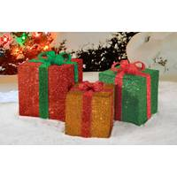 Productworks 3D Candy Cane Lane Presents from Blain's Farm and Fleet