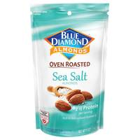 Blue Diamond Sea Salt Oven Roasted Almonds from Blain's Farm and Fleet
