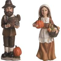 Transpac Imports Inc. Resin Pilgrim Figure Assortment from Blain's Farm and Fleet