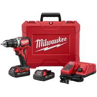 Milwaukee Compact Brushless Drill Driver Kit from Blain's Farm and Fleet
